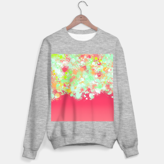 paint splatter on gradient pattern tgpi Sweater regular miniature
