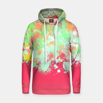 paint splatter on gradient pattern tgpi Hoodie miniature