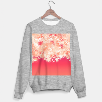 paint splatter on gradient pattern bti Sweater regular miniature