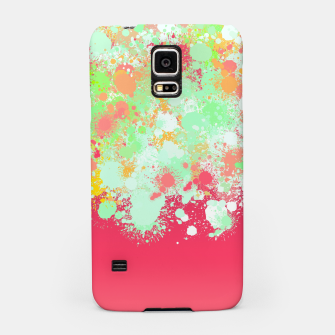 paint splatter on gradient pattern tgpi Samsung Case miniature