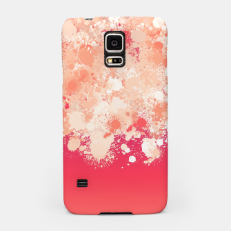 Miniature de image de paint splatter on gradient pattern bti Samsung Case, Live Heroes