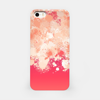 Miniature de image de paint splatter on gradient pattern bti iPhone Case, Live Heroes