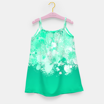 Miniature de image de paint splatter on gradient pattern magi Girl's dress, Live Heroes