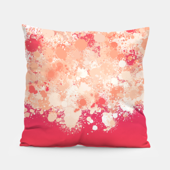 Miniature de image de paint splatter on gradient pattern bti Pillow, Live Heroes