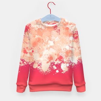 Miniature de image de paint splatter on gradient pattern bti Kid's sweater, Live Heroes