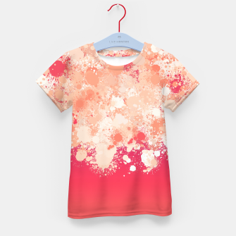 Miniature de image de paint splatter on gradient pattern bti Kid's t-shirt, Live Heroes