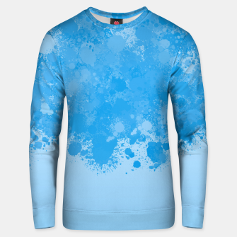 Miniature de image de paint splatter on gradient pattern wb Unisex sweater, Live Heroes