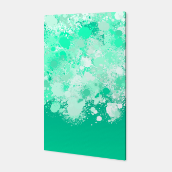 Miniature de image de paint splatter on gradient pattern magi Canvas, Live Heroes