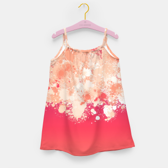 Miniature de image de paint splatter on gradient pattern bti Girl's dress, Live Heroes