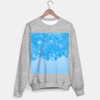 Miniature de image de paint splatter on gradient pattern wb Sweater regular, Live Heroes