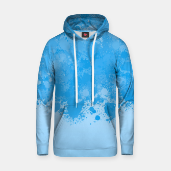 Miniature de image de paint splatter on gradient pattern wb Hoodie, Live Heroes