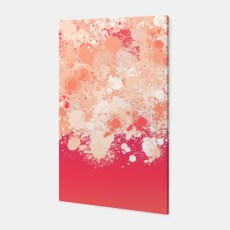 Miniature de image de paint splatter on gradient pattern bti Canvas, Live Heroes
