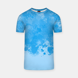 Miniature de image de paint splatter on gradient pattern wb T-shirt, Live Heroes