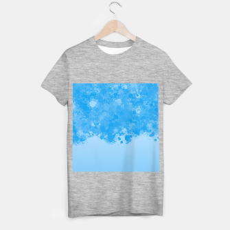 Miniature de image de paint splatter on gradient pattern wb T-shirt regular, Live Heroes