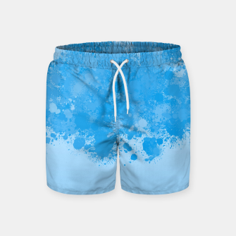 Miniature de image de paint splatter on gradient pattern wb Swim Shorts, Live Heroes