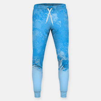 Miniature de image de paint splatter on gradient pattern wb Sweatpants, Live Heroes