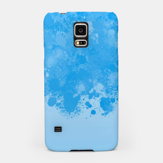 Miniature de image de paint splatter on gradient pattern wb Samsung Case, Live Heroes