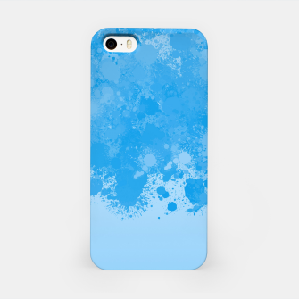 Miniature de image de paint splatter on gradient pattern wb iPhone Case, Live Heroes