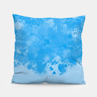 Miniature de image de paint splatter on gradient pattern wb Pillow, Live Heroes
