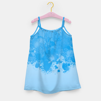 Miniature de image de paint splatter on gradient pattern wb Girl's dress, Live Heroes