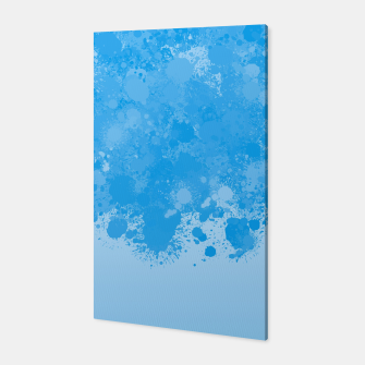 Miniature de image de paint splatter on gradient pattern wb Canvas, Live Heroes