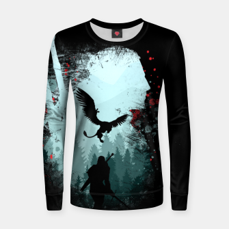 Thumbnail image of Silent Hunter Women sweater, Live Heroes