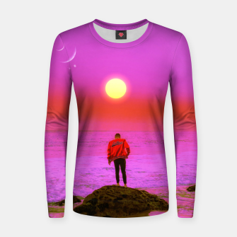 Thumbnail image of Jonny Women sweater, Live Heroes