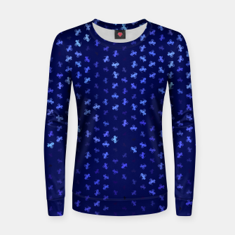 Thumbnail image of capricorn zodiac sign pattern std Women sweater, Live Heroes