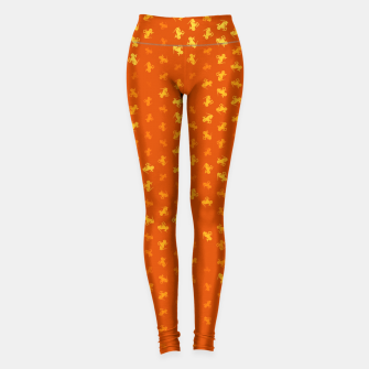 Thumbnail image of capricorn zodiac sign pattern yo Leggings, Live Heroes