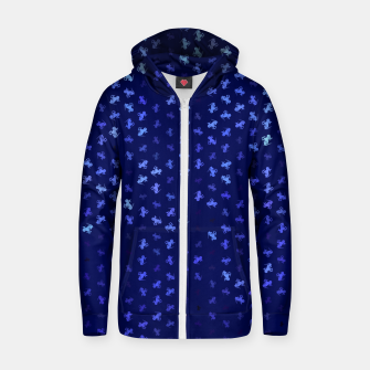 Thumbnail image of capricorn zodiac sign pattern std Zip up hoodie, Live Heroes