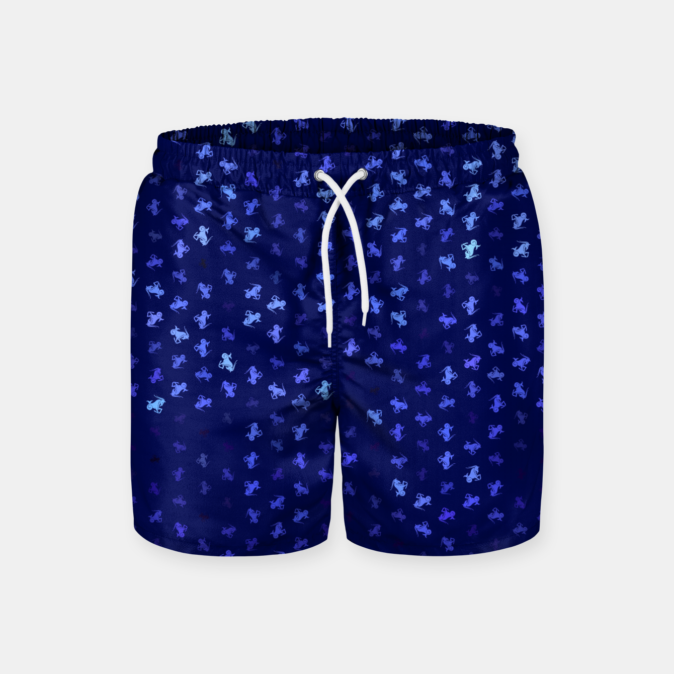 Image de capricorn zodiac sign pattern std Swim Shorts - Live Heroes
