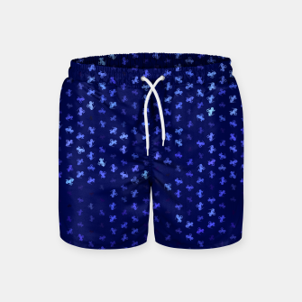 Thumbnail image of capricorn zodiac sign pattern std Swim Shorts, Live Heroes