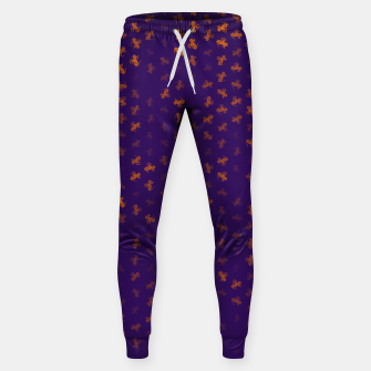capricorn zodiac sign pattern po Sweatpants miniature