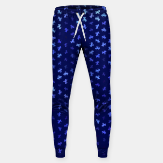 capricorn zodiac sign pattern std Sweatpants miniature