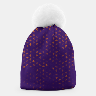 capricorn zodiac sign pattern po Beanie miniature