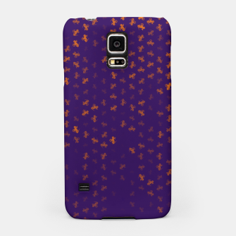 capricorn zodiac sign pattern po Samsung Case miniature