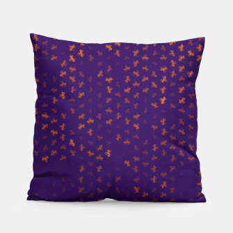 capricorn zodiac sign pattern po Pillow miniature