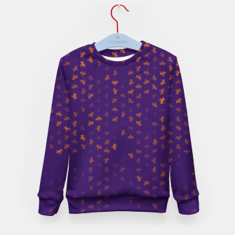 Thumbnail image of capricorn zodiac sign pattern po Kid's sweater, Live Heroes
