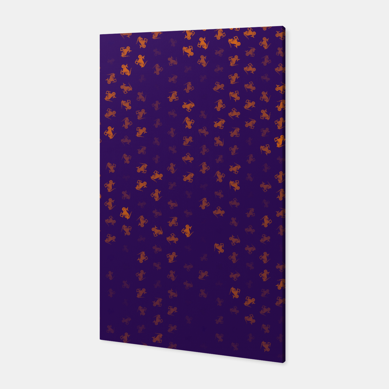 Image de capricorn zodiac sign pattern po Canvas - Live Heroes