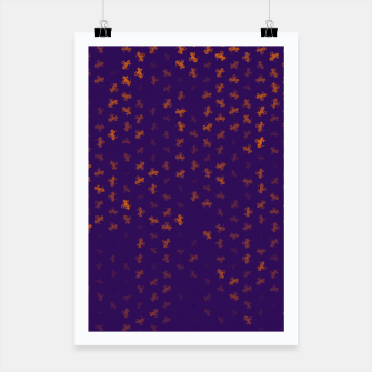 capricorn zodiac sign pattern po Poster miniature