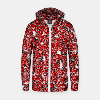 Thumbnail image of Ladybug Love Zip up hoodie, Live Heroes