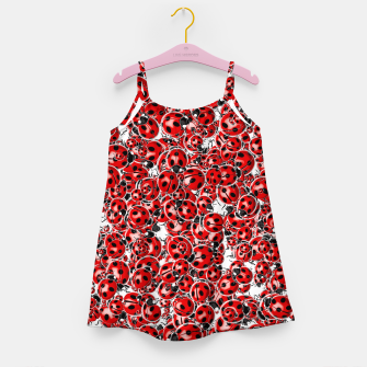 Ladybug Love Girl's dress thumbnail image