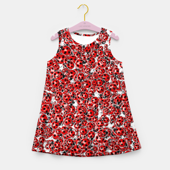 Miniatur Ladybug Love Girl's summer dress, Live Heroes