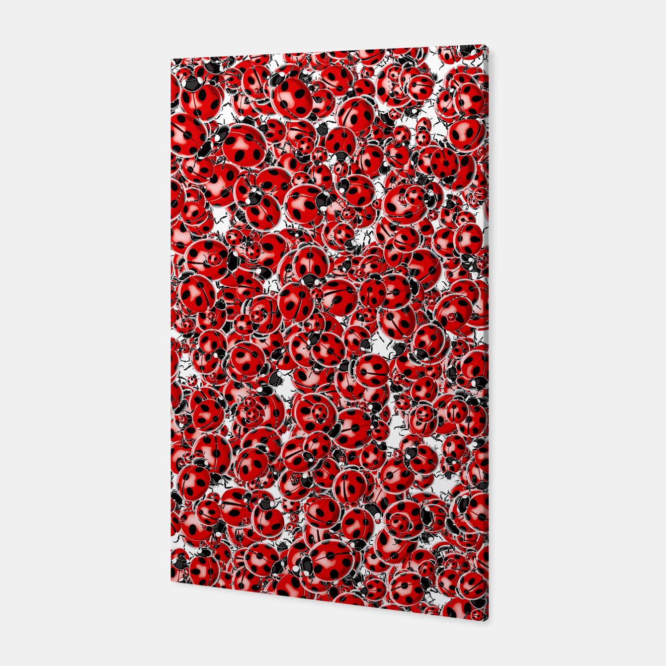 Image of Ladybug Love Canvas - Live Heroes
