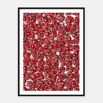 Thumbnail image of Ladybug Love Framed poster, Live Heroes
