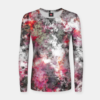 Thumbnail image of Frosty pink Women sweater, Live Heroes