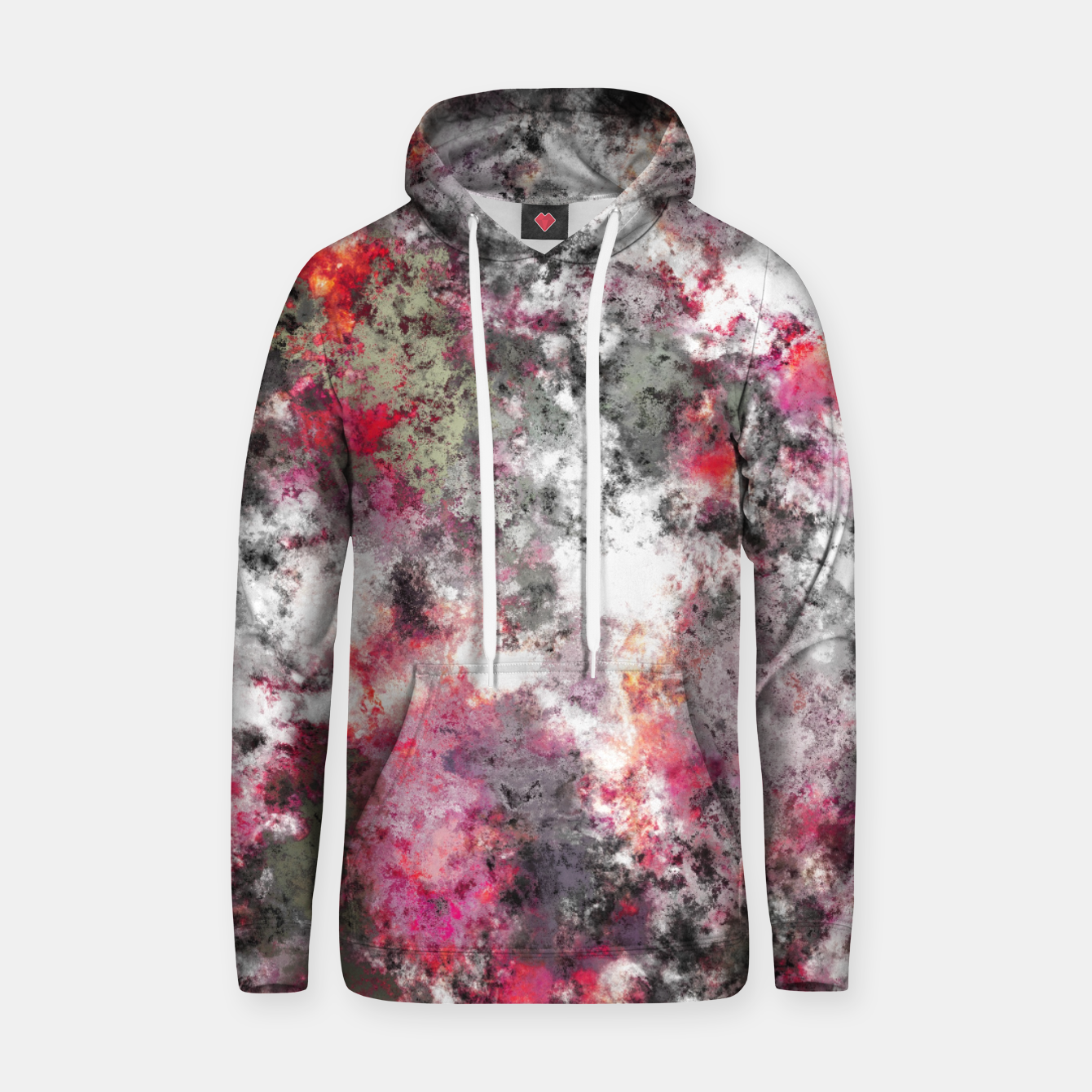 Image of Frosty pink Hoodie - Live Heroes