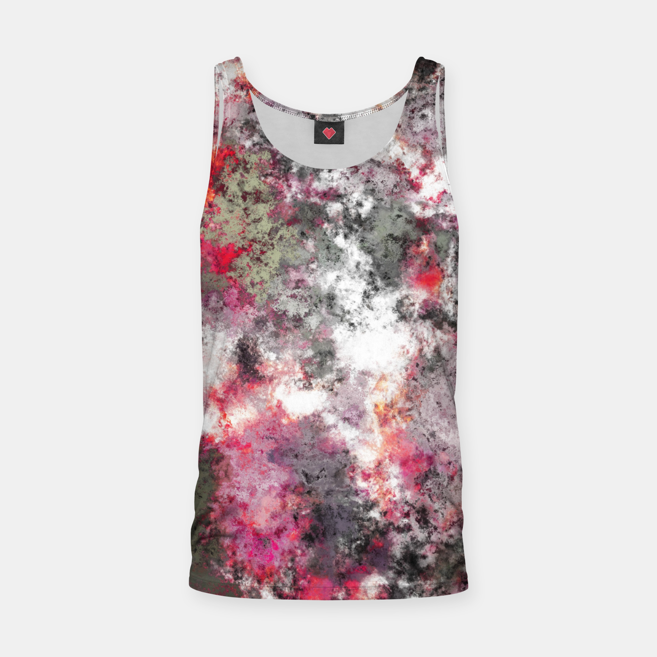 Image of Frosty pink Tank Top - Live Heroes