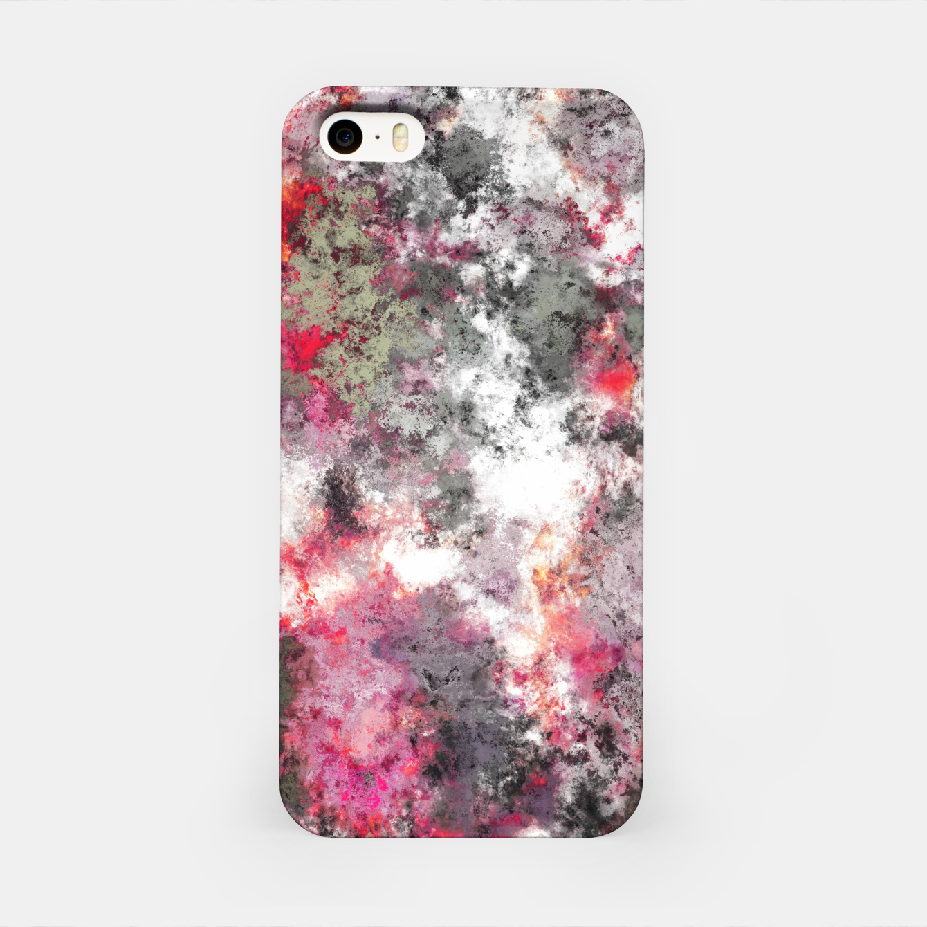 Image of Frosty pink iPhone Case - Live Heroes