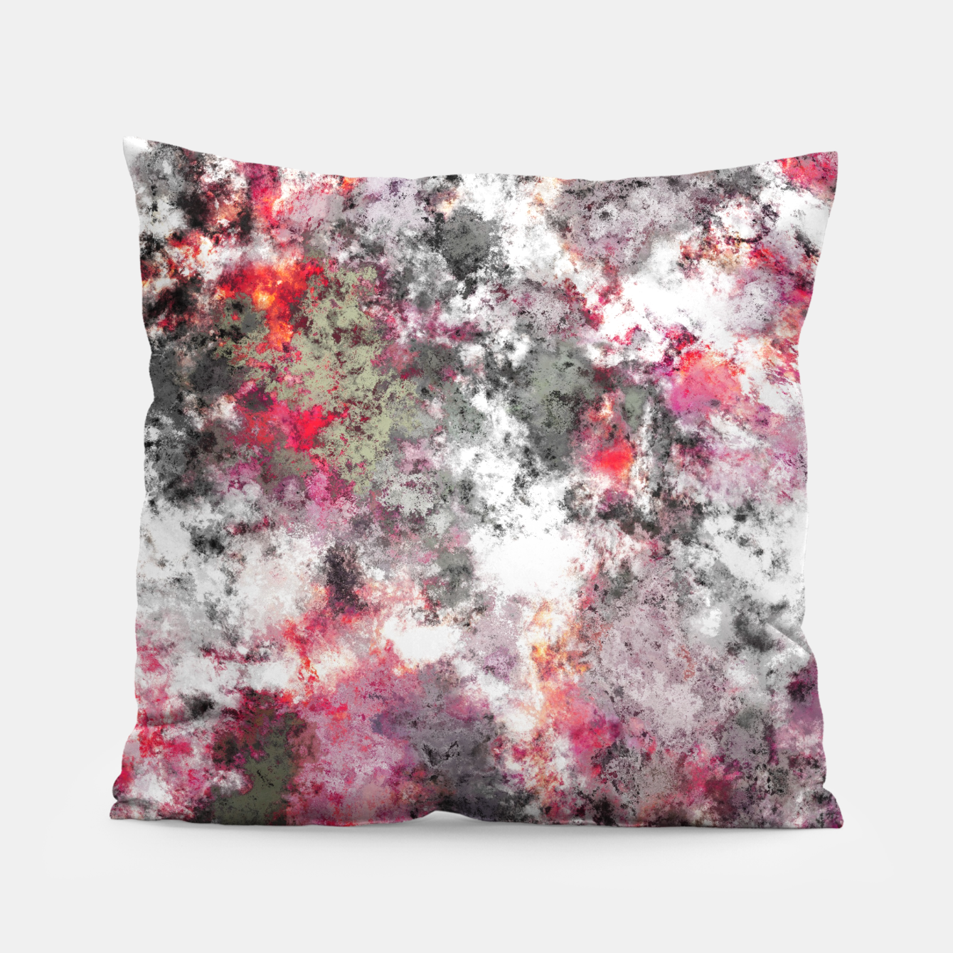 Image of Frosty pink Pillow - Live Heroes